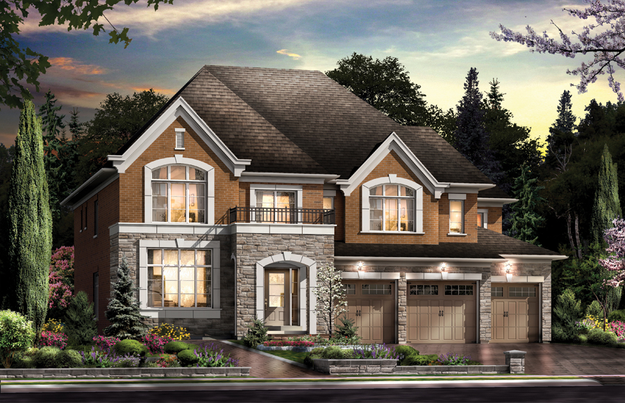 New homes in brampton and kleinburg by skyhomes for New homes in ontario canada