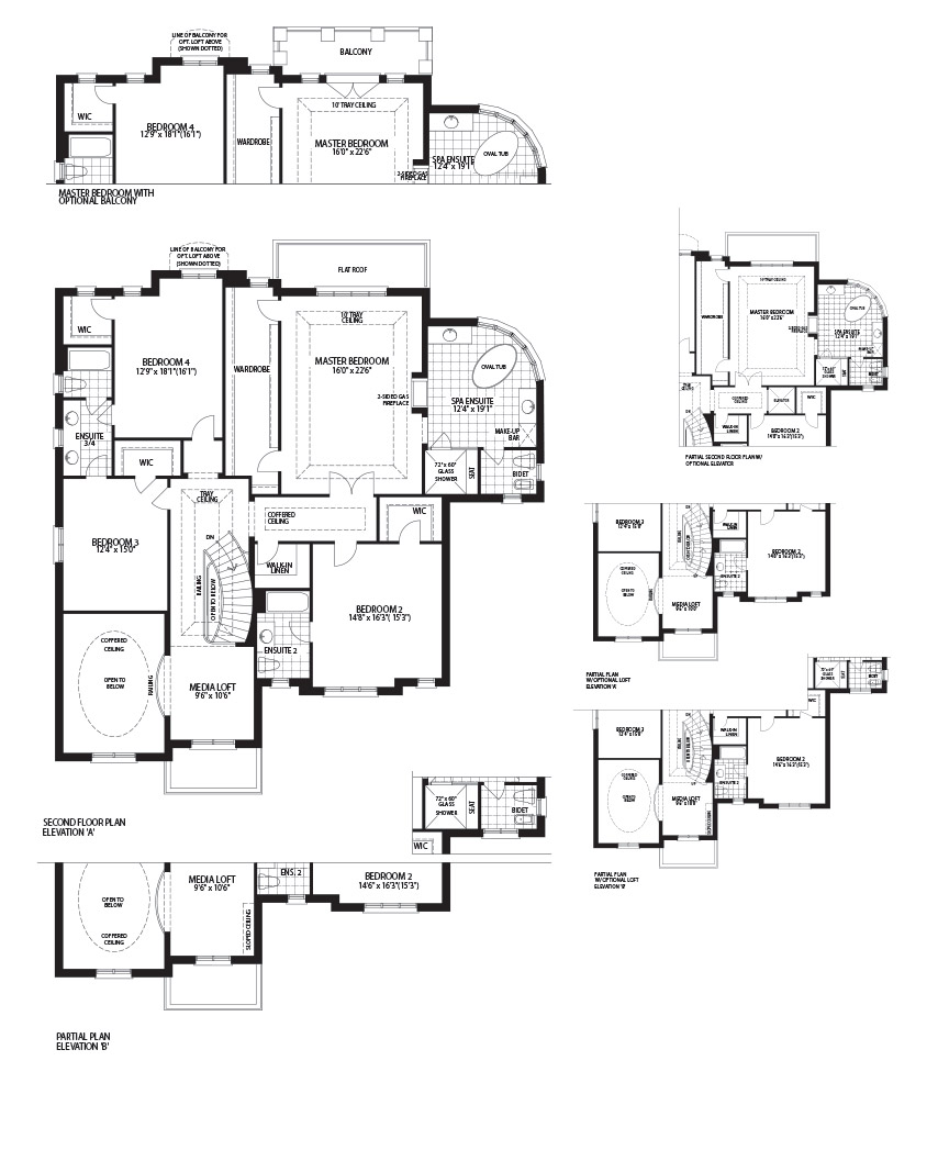 New homes in brampton and kleinburg by skyhomes for Emerald homes floor plans