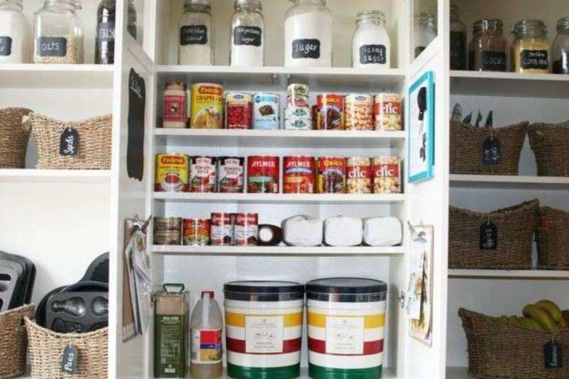 6 Ideas to Organize Your Kitchen Pantry