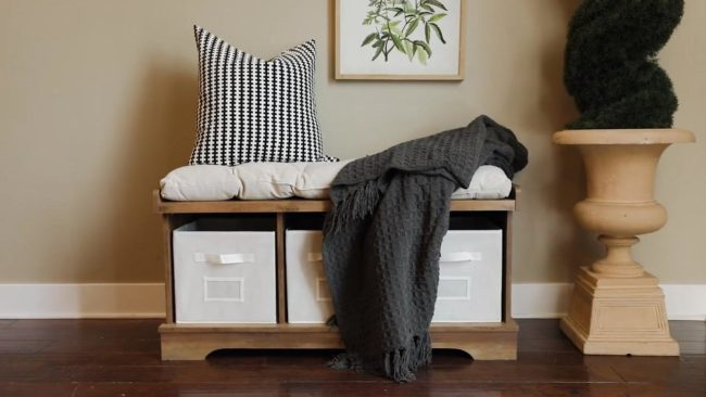 decorating with throws