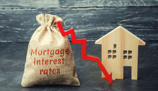 lowered interest rate