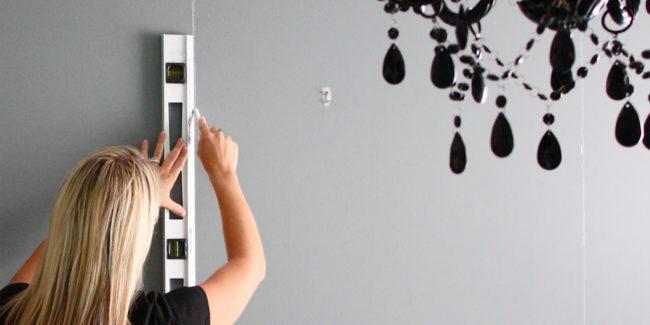 hanging wallpaper