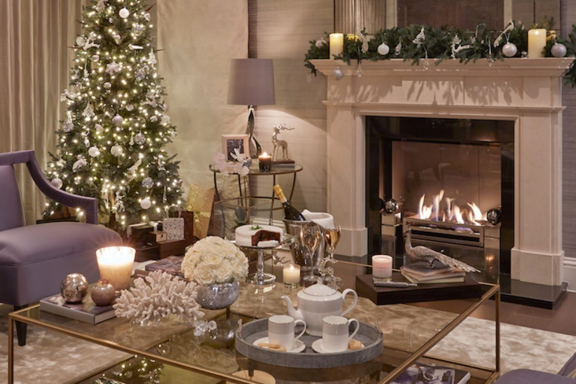 Luxury Holiday Decor for your Living Room