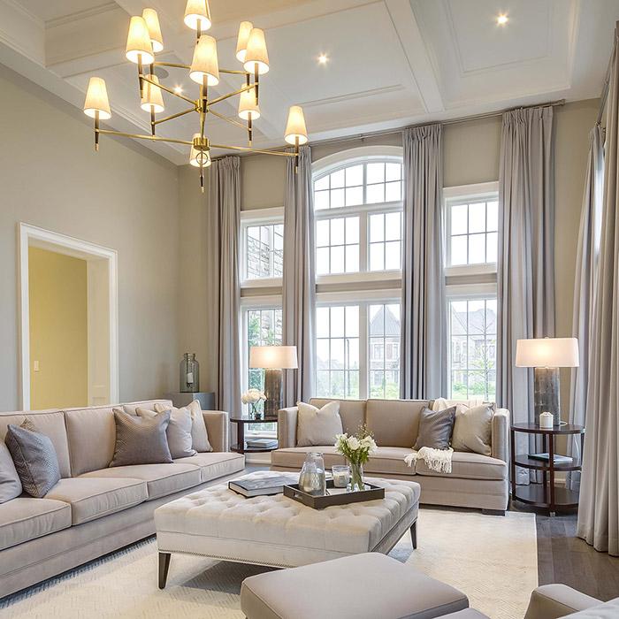 Interior Design Ideas For Homes: 5 Interior Design Ideas For A Luxurious Living Room
